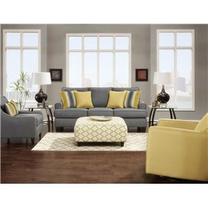Fusion Furniture 2600 Stationary Living Room Group