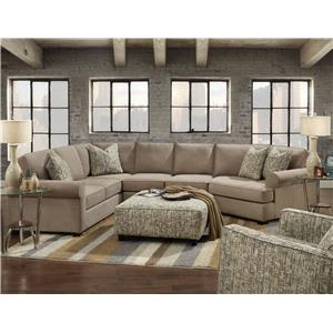Fusion Furniture 2900 Stationary Living Room Group