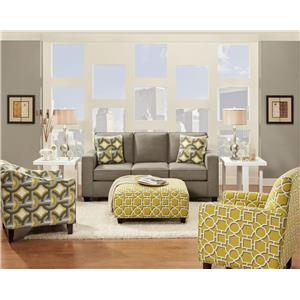 Fusion Furniture 3560 Stationary Living Room Group