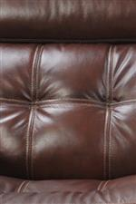 Tufted Detailing on Seat and Back