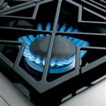 Sealed, Dual-flame Stacked Burners Deliver a Full Spectrum of Heat Settings