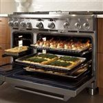 Heavy-Duty, Full-Extension Racks make it Easy to Load and Unload Trays and Cookware