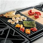 Units Featuring Grills Allow Outdoor-Style Cooking to be Done During All Months of the Year