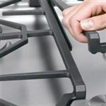 Products Featuring Continuous Grates Allow Easy Pan Movement and Transfer