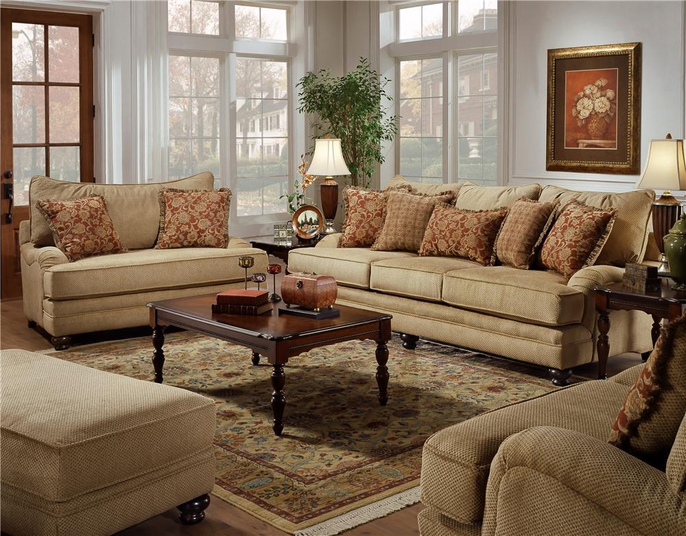 Attractive Genesis 1900 Stationary Sofa With Wood Legs   BigFurnitureWebsite   Sofa