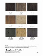 Additional Available Finishes
