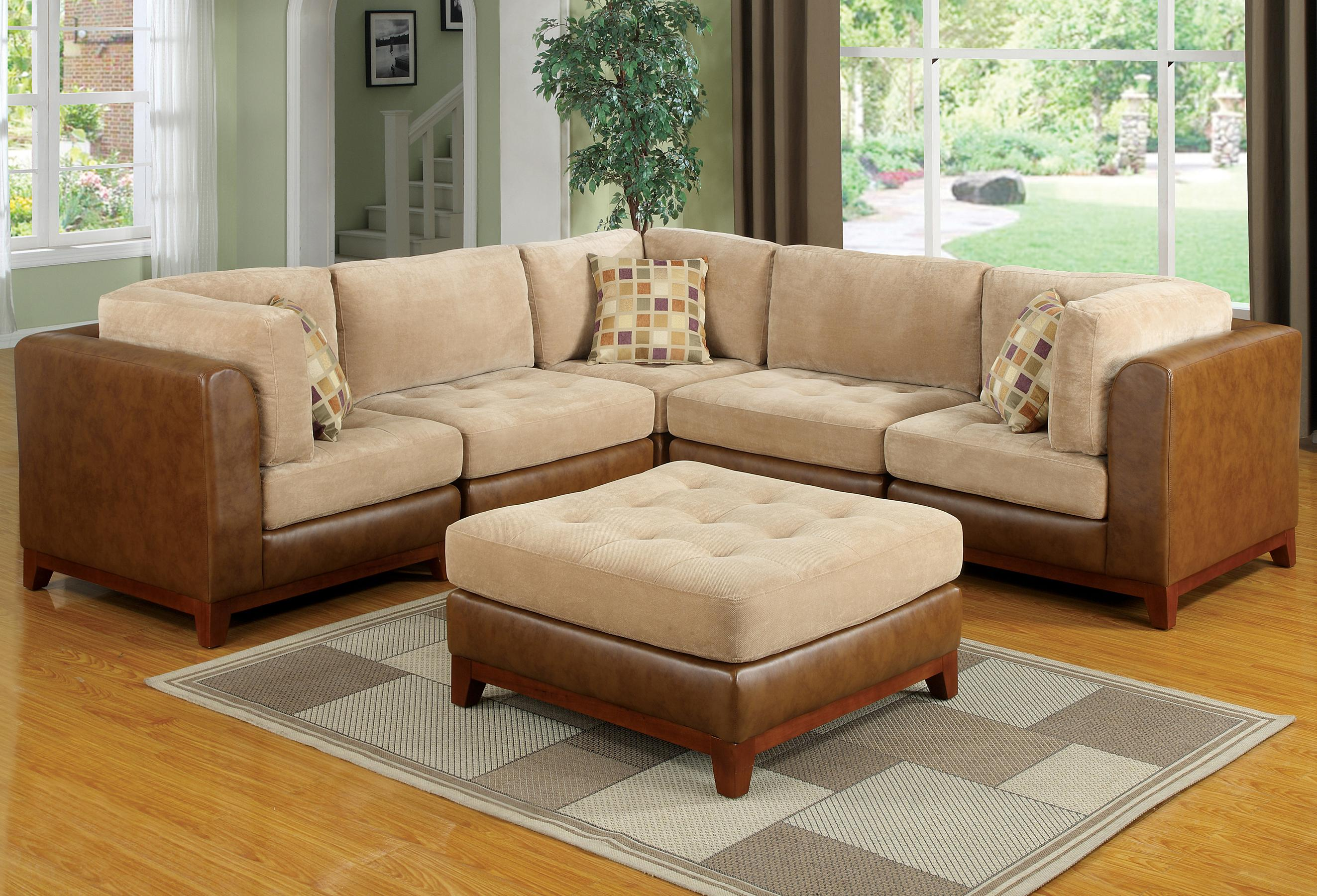 Hamilton Spill Dallas Country Styled Sectional Sofa With