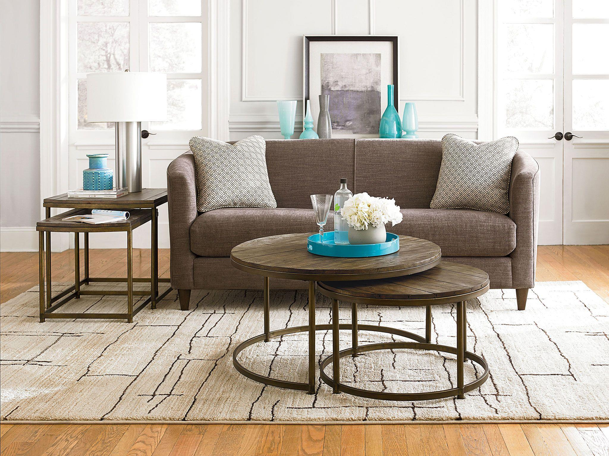 Hammary Leone Round Nesting Cocktail Table | Wayside Furniture | Cocktail/Coffee  Tables