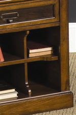 Cubby Storage Units within End Table