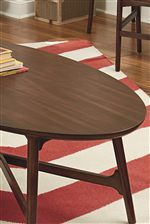 Surboard Edge Profiles on Table Tops Show Off Retro Design