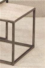 Contemporary Look of a Bronze Metal Frame