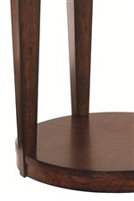 Tall, Tapered Block Legs and Pedestal Bases