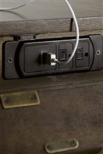 Built In Outlets and Power Bars Provide Smart Function