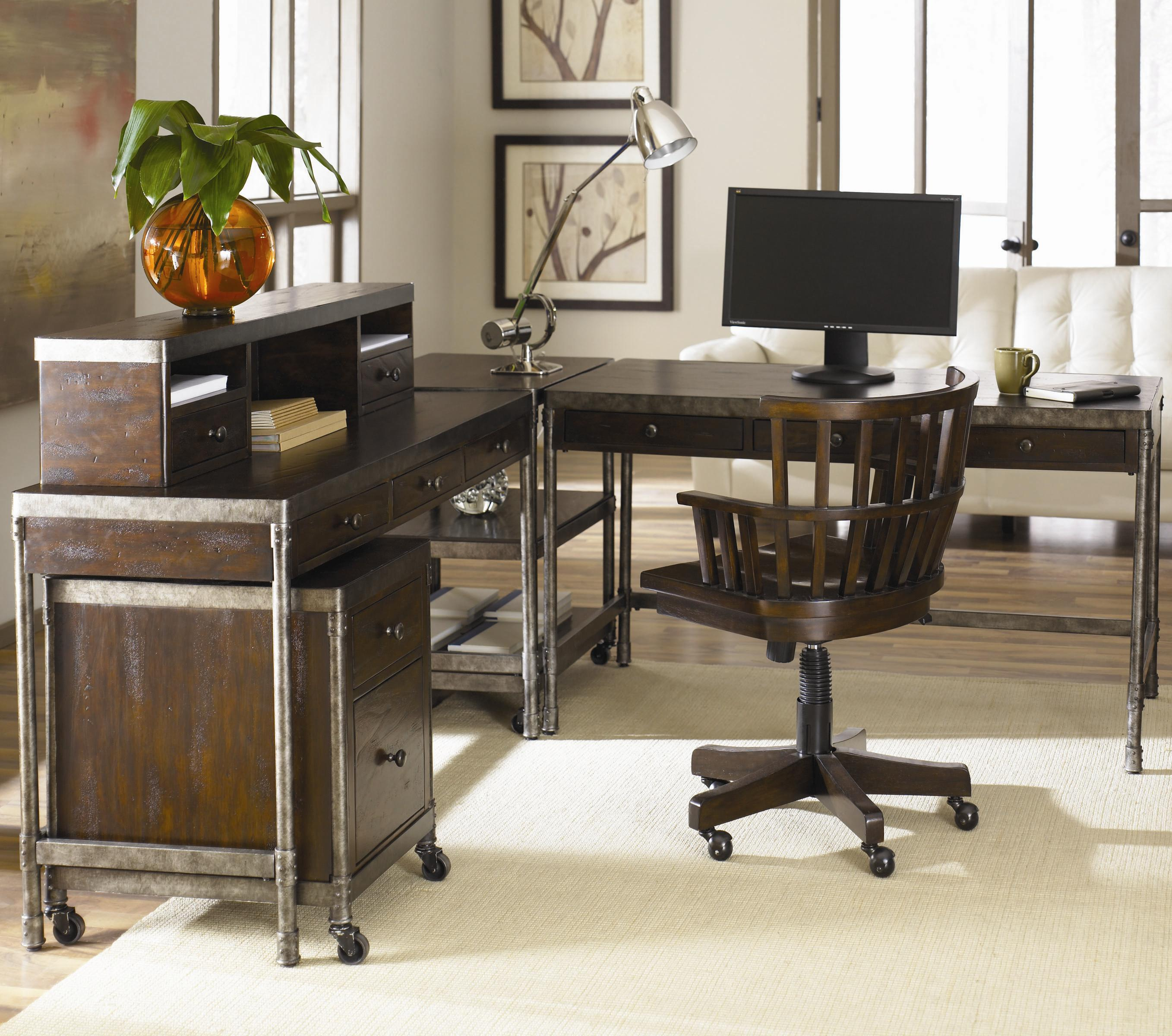Hammary structure office desk chair w wheels boulevard home furnishings executive desk chairs