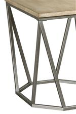 Geometric Angles and Contrasting Touches of Metal Create a Hip, Modern Vibe