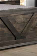 Plank Detailing Establishes Distinct Farmhouse Style