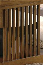 Vertical Slat Detail