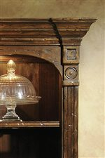 Carved Pilaster and Top Molding