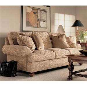 Henredon Fireside Upholstery Customizable Upholstered Sofa
