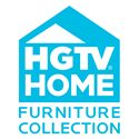 HGTV Home Furniture Collection Modern Heritage Convex Glass Dining Chest with Shelves and Lights