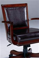 Plushly Upholstered Seating and Adjustable Game Chair