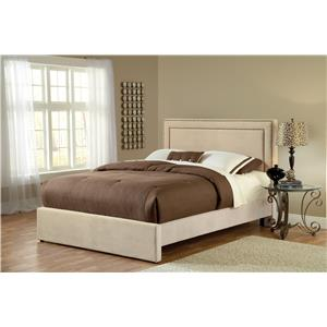 Hillsdale Amber Buckwheat California King Upholstered Bed Set with Rails