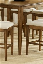 Sleek Tapered Chair and Table Legs