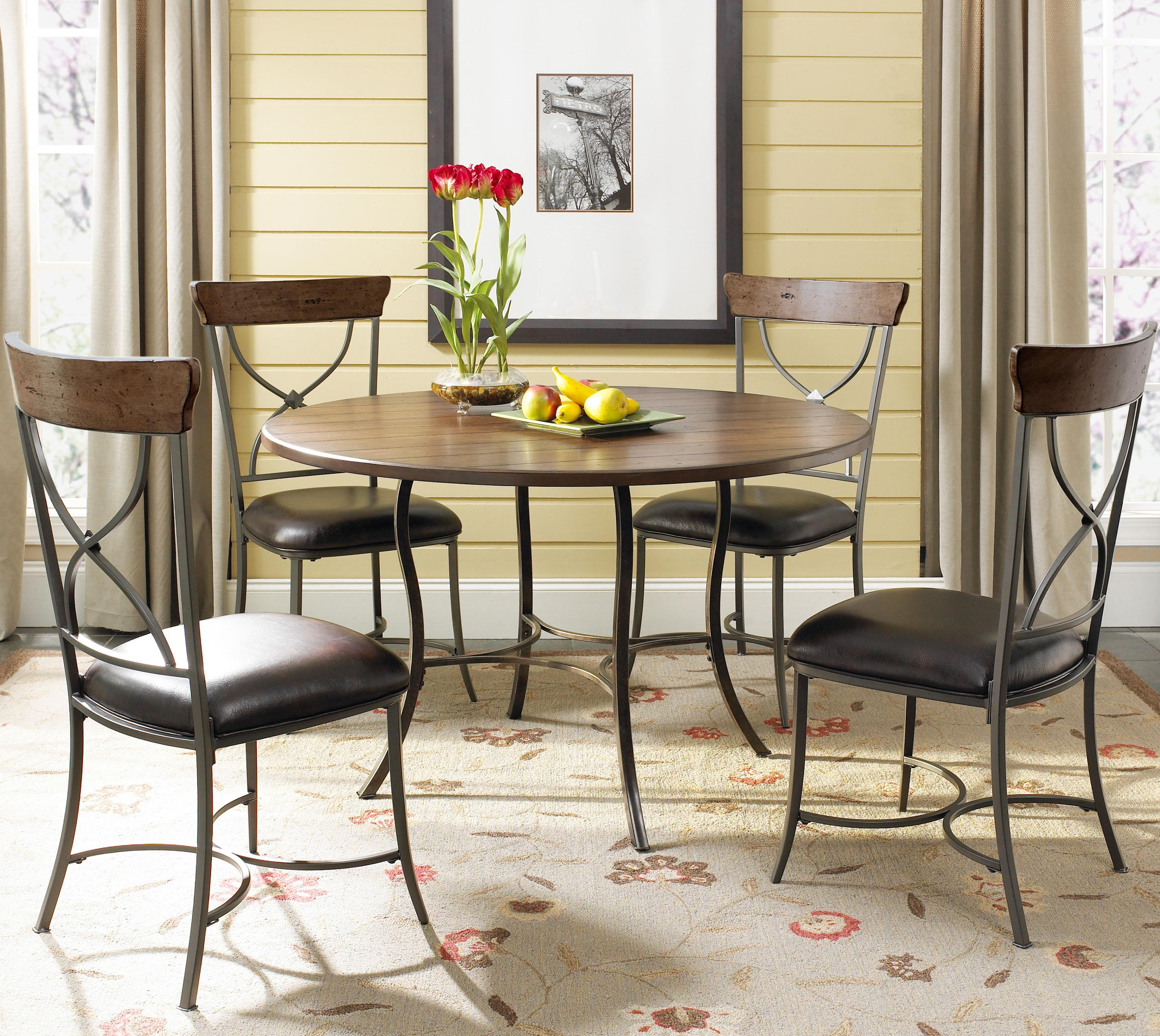 Hillsdale Cameron Round Wood Counter Height Table | Wayside Furniture | Pub  Table