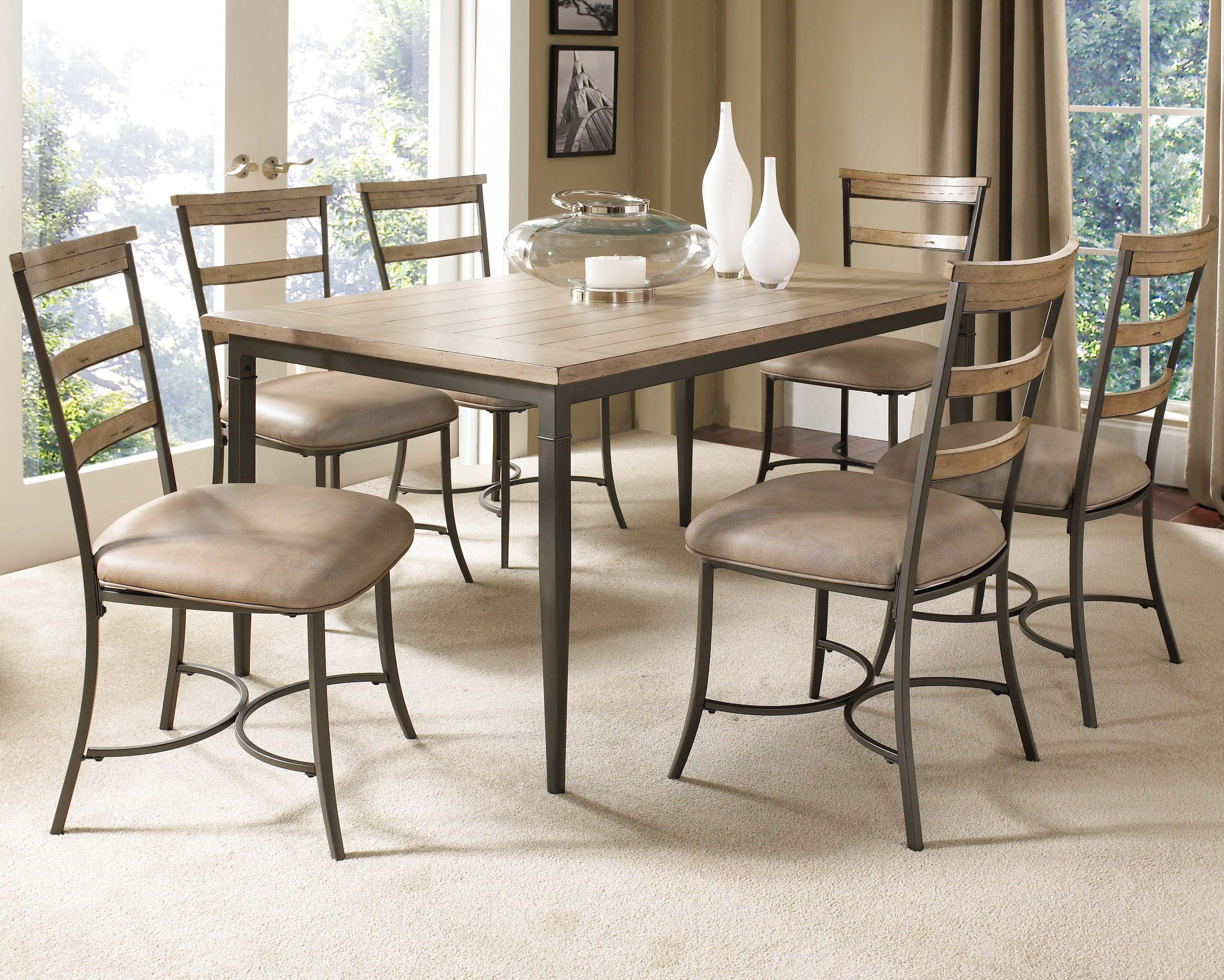 Hillsdale Charleston 5 Piece Dining Table And Chair Set   Godby Home  Furnishings   Dining 5 Piece Set Noblesville, Carmel, Avon, Indianapolis,  Indiana