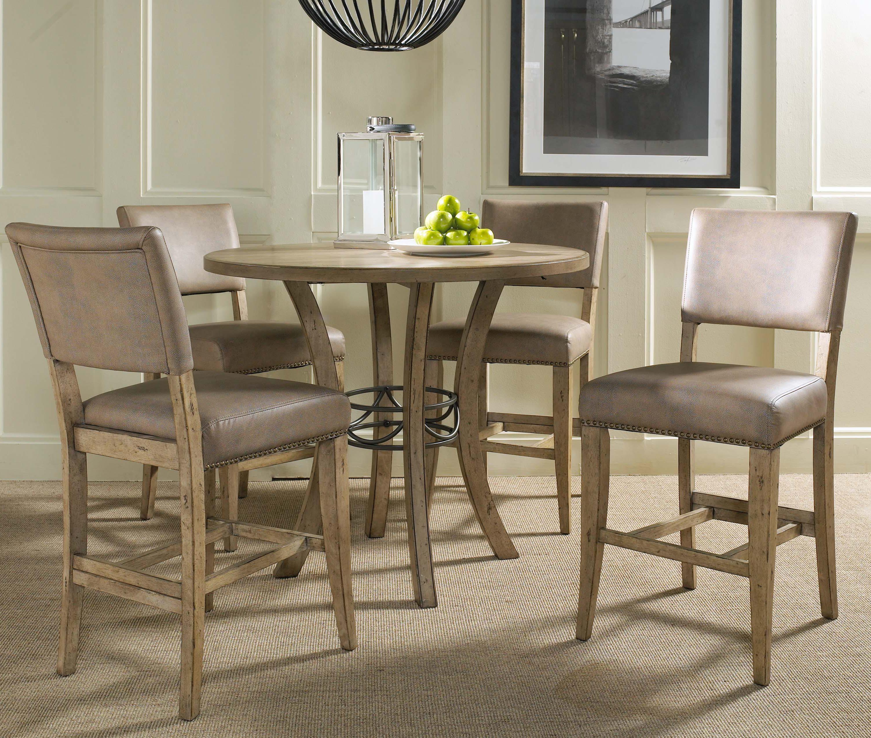 Hillsdale Charleston 5 Piece Dining Table And Chair Set | Goffena Furniture  U0026 Mattress Center | Dining 5 Piece Set