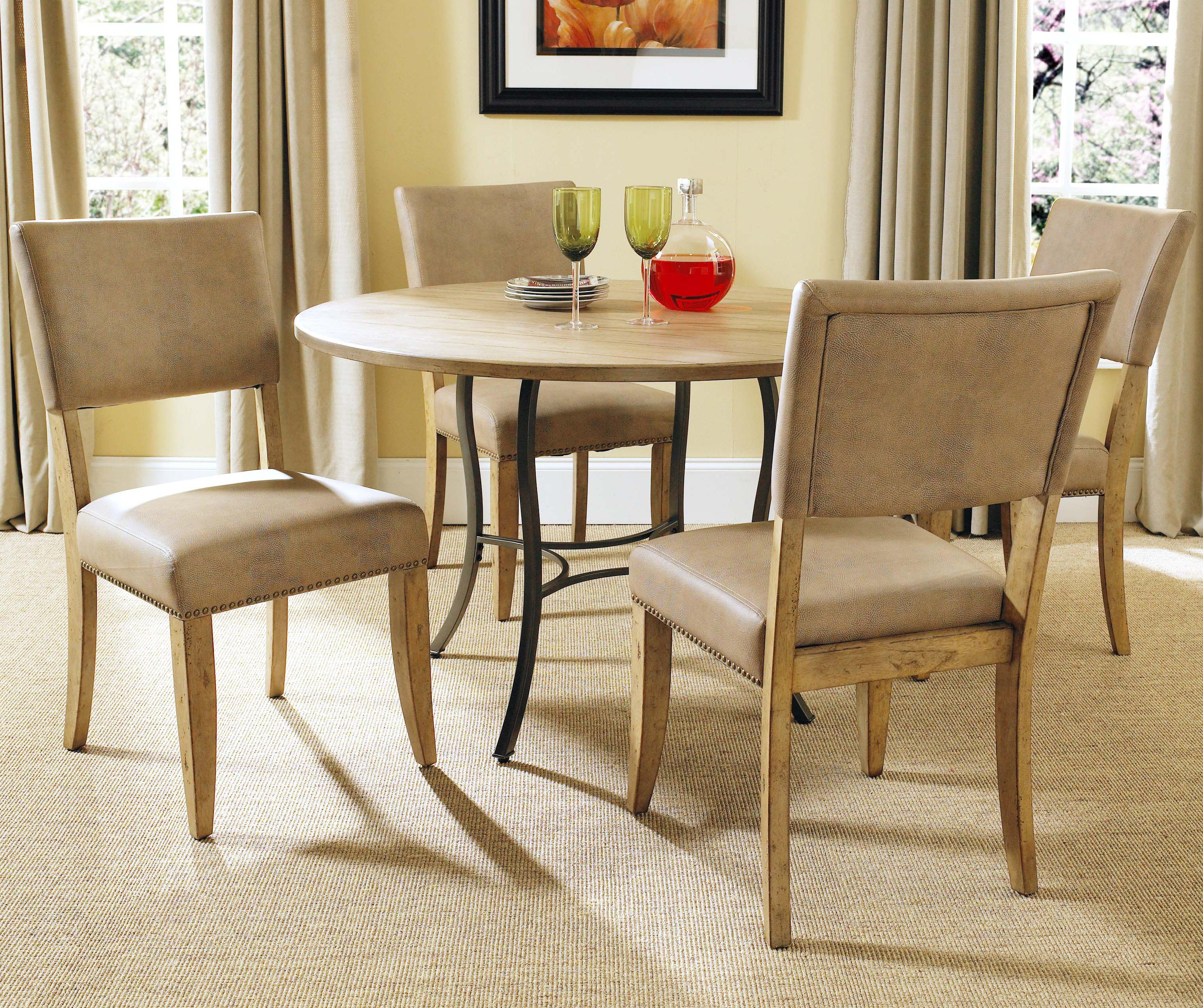 Hillsdale Charleston 5 Piece Dining Table And Side Chair Set | Boulevard  Home Furnishings | Dining 5 Piece Set