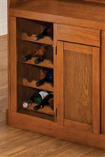 Wine and Cabinet Storage