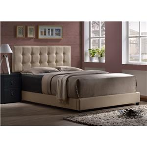 Morris Home Furnishings Duggan Upholstered Queen Headboard
