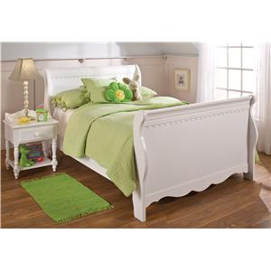 Morris Home Furnishings Lauren  5-Piece Twin Bedroom Group with Poster Bed