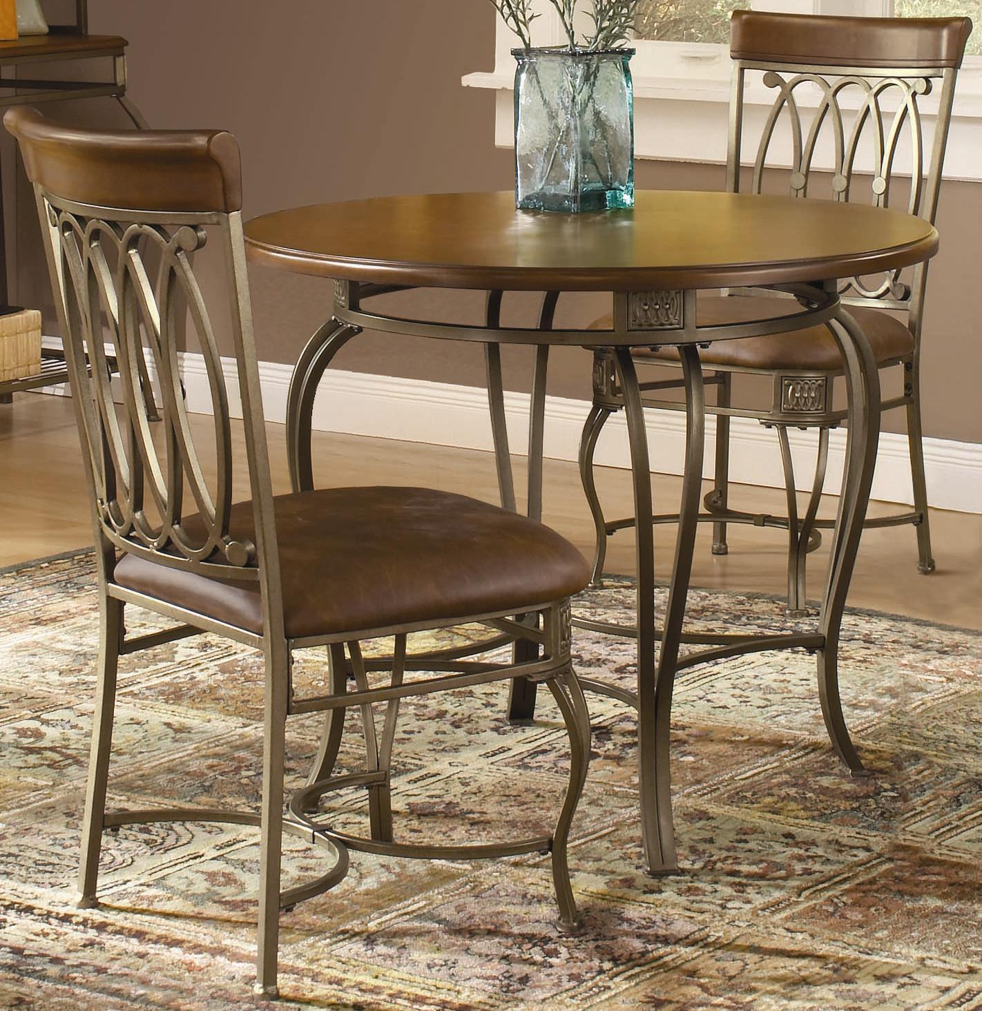 Hillsdale Montello 3 Piece Bar Height Bistro Set   Wayside Furniture   Pub  Table And Stool Set
