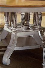 Legs and Pedestals Sport Intricate Craftsmanship