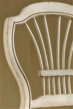 Fan-Fare Chair Backs add Whimsy and Charm