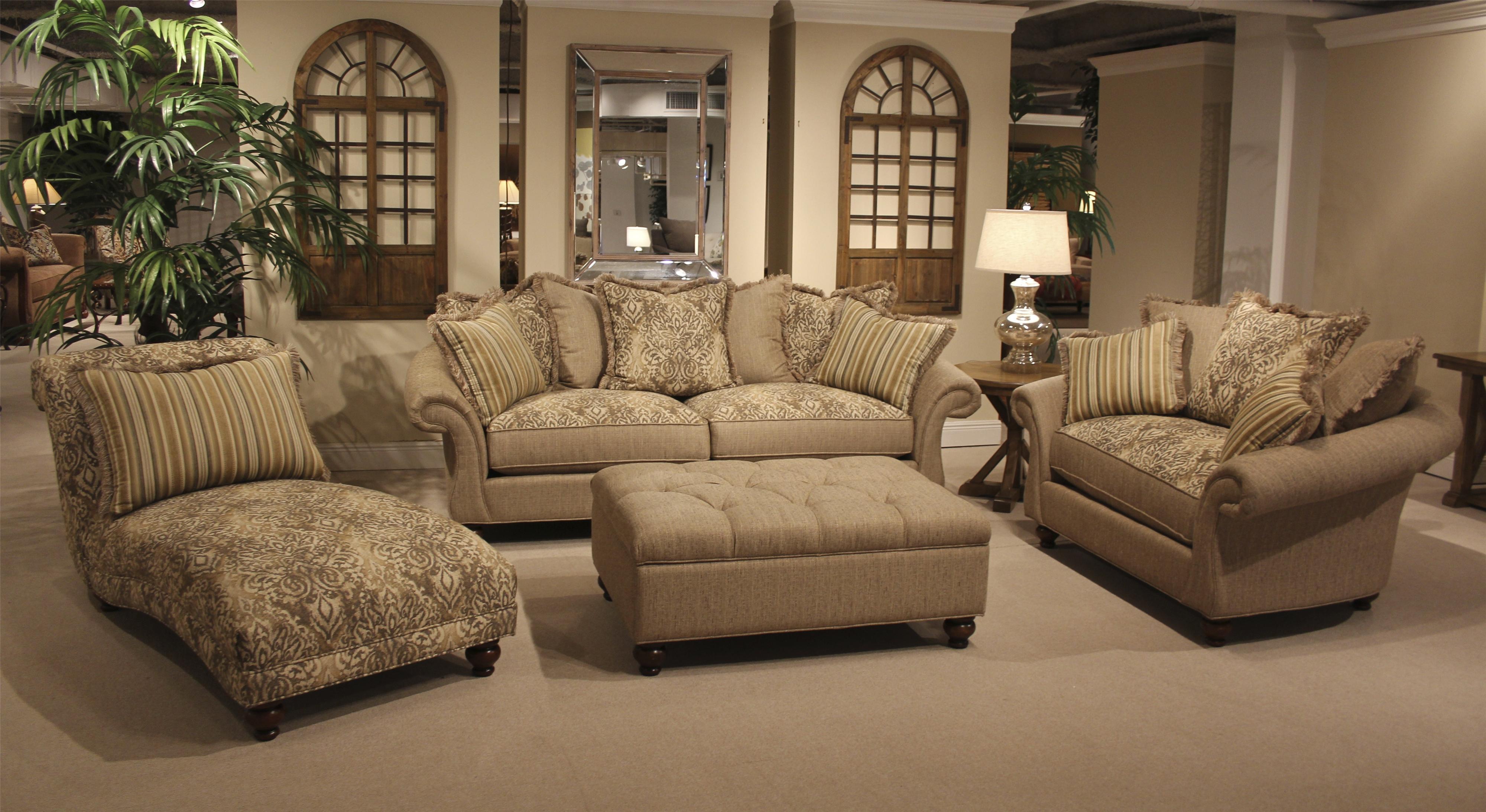 HM Richards Allouetta   Praire Traditional Chaise Lounge    BigFurnitureWebsite   Chaise