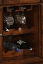 Wine Rack and Wine Glass Holder