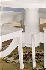 Elegant Pedestal Table Base