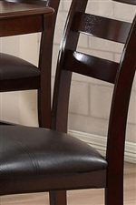 Chocolate Brown UltraHyde Upholstery