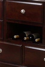Detail of Server Wine Rack