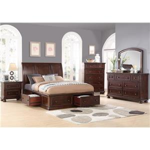 Holland House 2638 Queen Bedroom Group