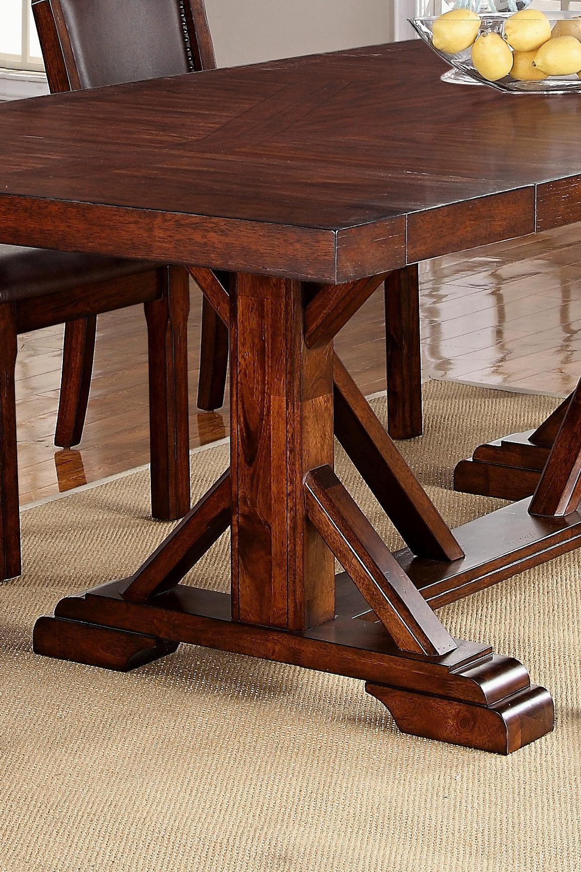 Cascade Trestle Table + 6 Chairs   Walkeru0027s Furniture   Dining 7 (or More)  Piece Set Spokane, Kennewick, Tri Cities, Wenatchee, Coeur Du0027Alene, Yakima,  ...