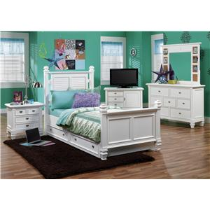 Morris Home Furnishings Berkshire 7 Drawer Dresser