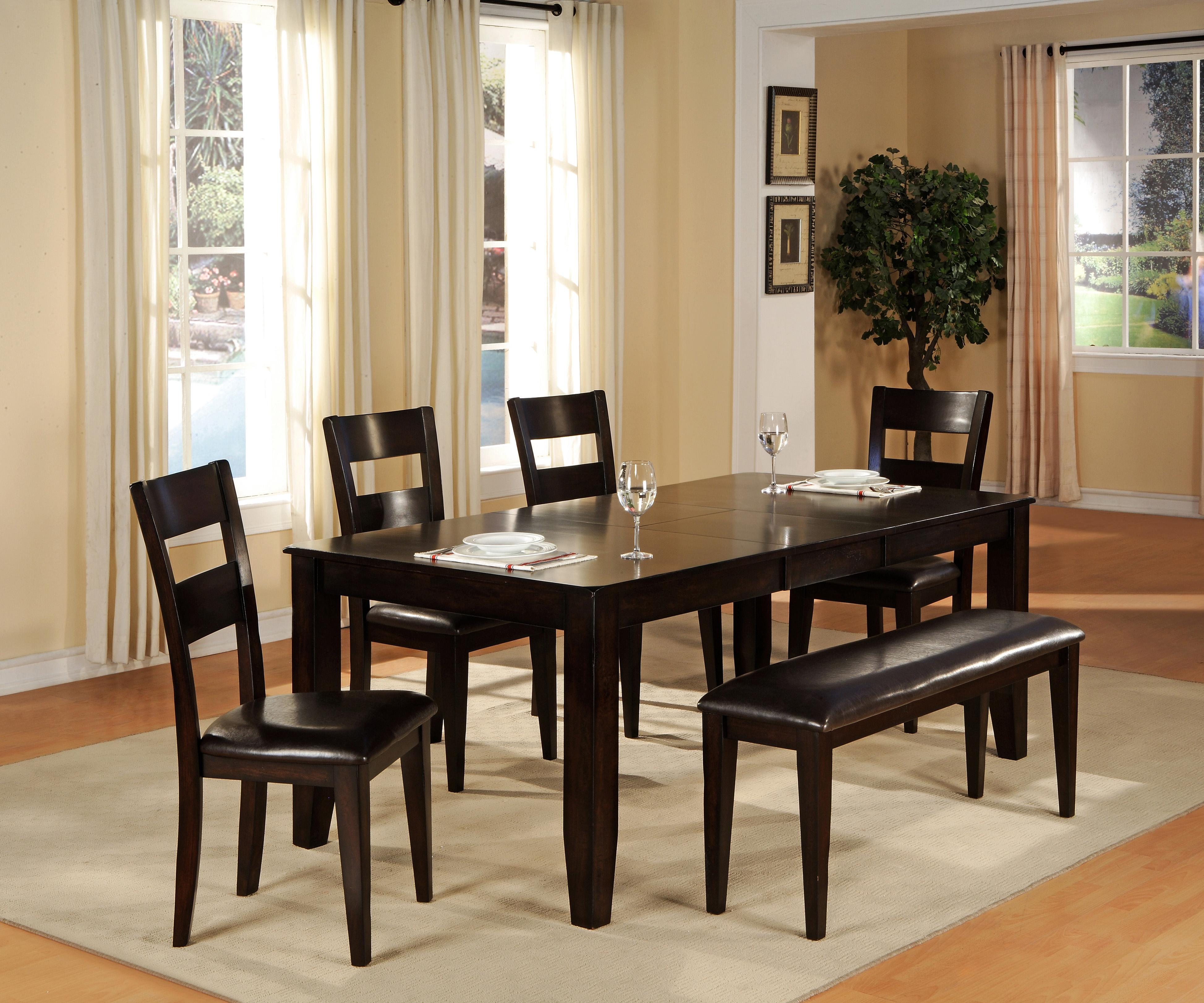 bench dining with room table alluring piece set pretty anadolukardiyolderg