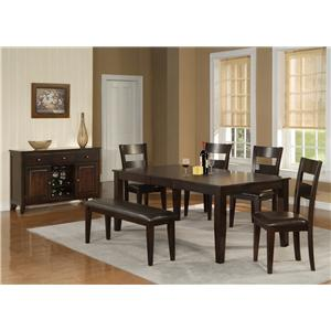 Holland house bend 6 piece pub table chairs and bench set godby holland house bend 6 piece pub table chairs and bench set watchthetrailerfo