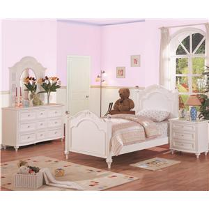 Morris Home Furnishings Loveland Full  Post Headboard and Footboard Bed