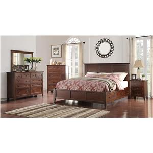 Holland House Layton Park King Bedroom Group