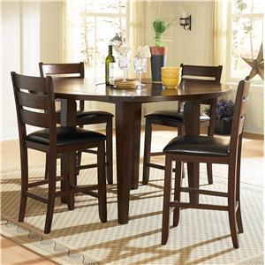 Homelegance 586 Rectangular Dining Table, Dark Oak Finish